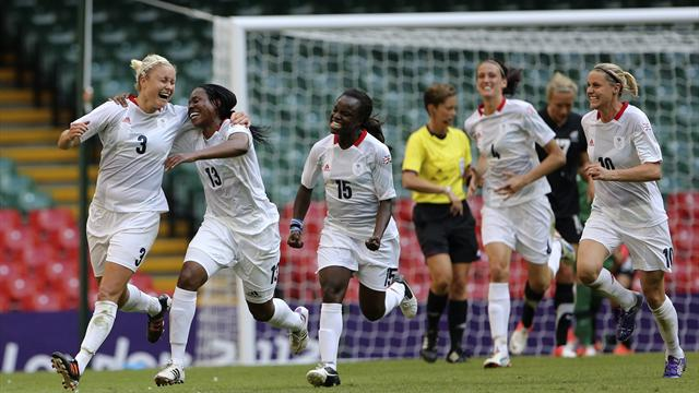 GB women's footballers start with win