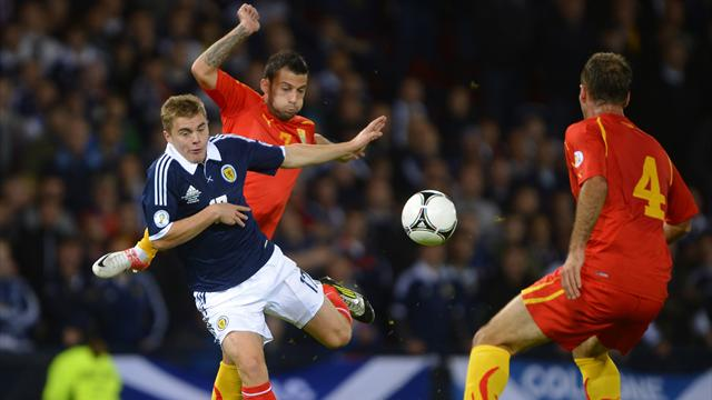 Scotland held at home again by Macedonia