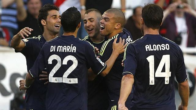 Real Madrid back on track with win over Rayo