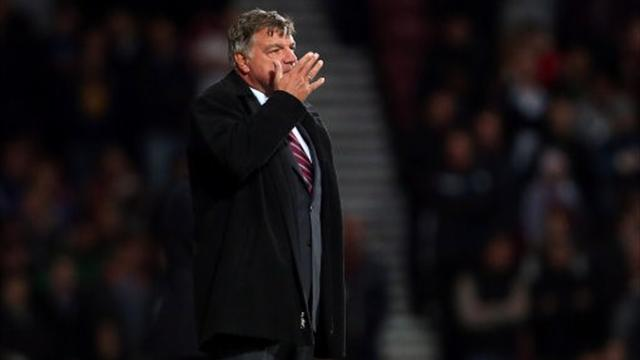 Allardyce happy with West Ham, annoyed with ref
