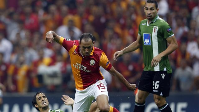 Champions League - Braga earn deserved win at Galatasaray