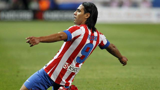 Liga - Brilliant Falcao grabs late win for Atletico