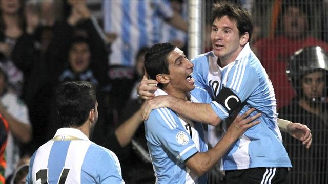 Messi on fire as Argentina destroy Uruguay