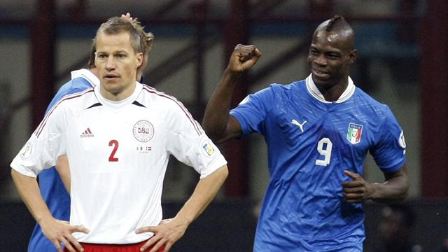 World Cup: Balotelli the hero as Italy beat Denmark