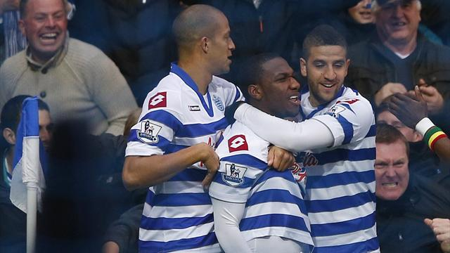 Premier League - Everton survive Pienaar red card to hold QPR