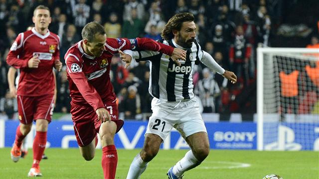 Champions League - Nordsjlland draw with Juventus