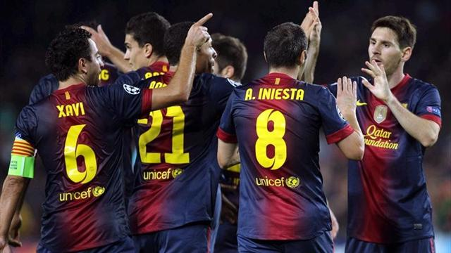 Champions League - Barcelona deny Celtic with last-gasp winner