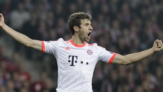 Champions League - Mueller penalty sees Bayern sink Lille