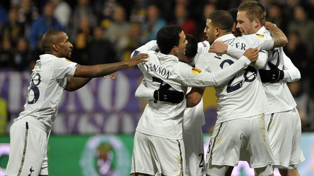 Europa League - Sigurdsson saves Spurs blushes in Slovenia