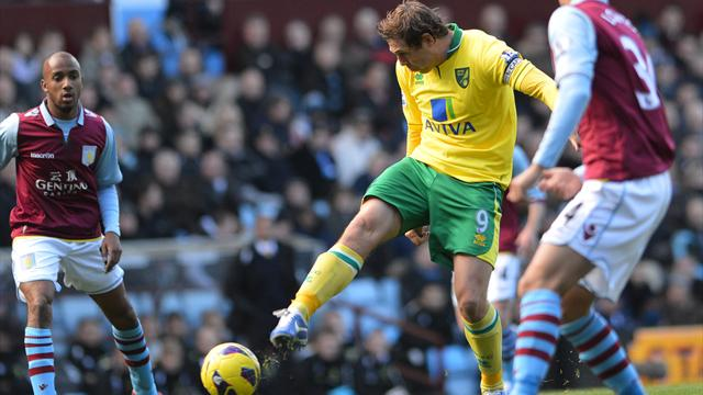 Premier League - Lambert's Villa held by Norwich