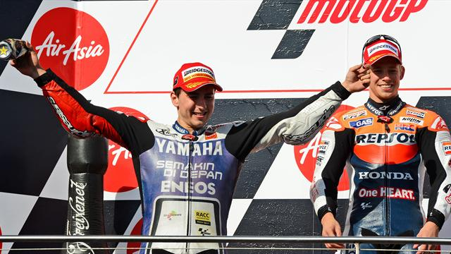 Australian Grand Prix - Lorenzo claims MotoGP title as Stoner wins in Australia