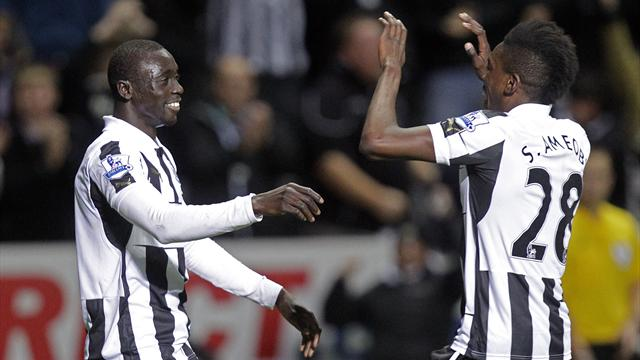 Premier League - Cisse steals points for Newcastle