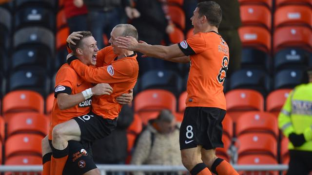 Scottish Football - Dundee United stun Celtic in injury time