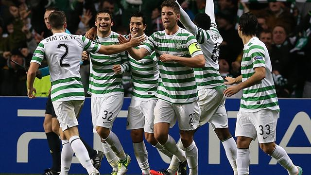 Champions League - Celtic mark 125th birthday with stunning win over Barcelona