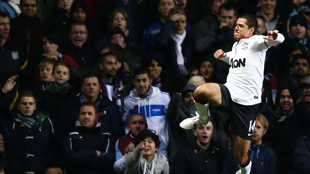 Premier League - Hernandez inspires United comeback at Villa