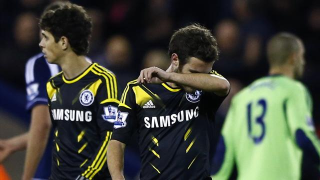 Premier League - Chelsea beaten at West Brom