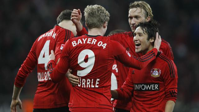 German Bundesliga  - Schalke beaten by Leverkusen