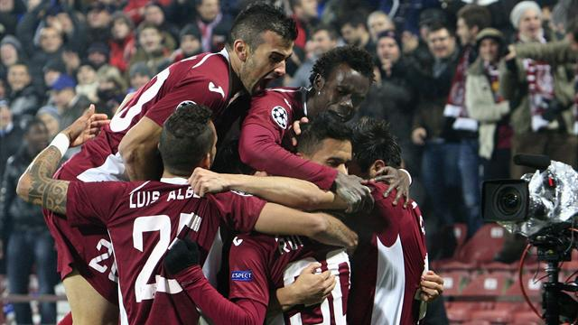 Champions League - Cluj send Braga out of Europe