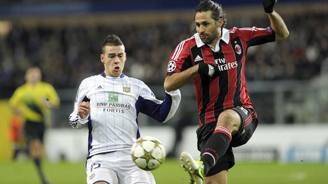 Champions League - Mexes scores wonder goal as Milan progress