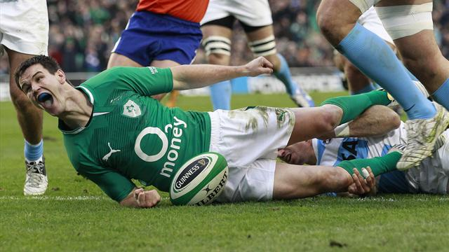 Rugby - Ireland outclass Argentina to secure World Cup seeding