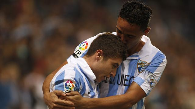 Liga - Malaga go fourth following Valencia rout