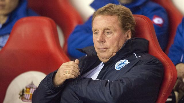 Premier League - Redknapp's QPR reign starts with stalemate at Sunderland