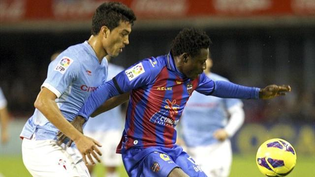 Spanish Liga - Levante lucky to get draw at Celta