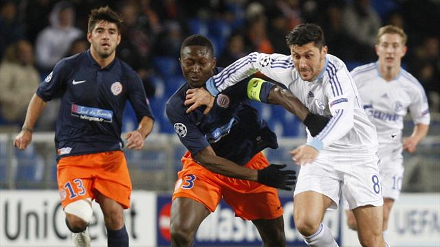 Champions League - Schalke draw with Montpellier to seal top spot