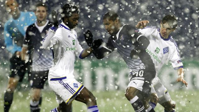 Champions League - Dinamo Zagreb share spoils with Dynamo Kiev