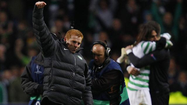 Scottish Football - Lennon revels in Celtic progress