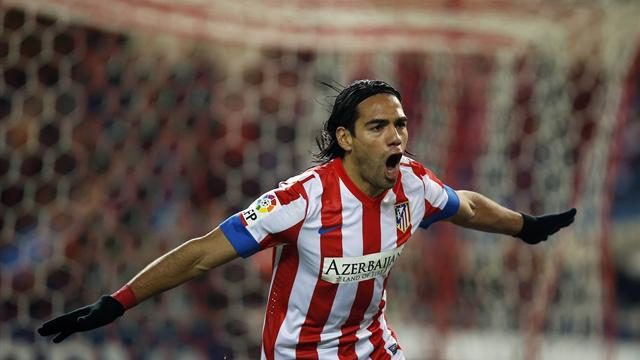 Liga - Falcao hits five as Atletico crush Deportivo