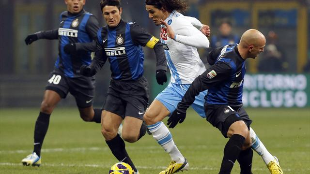 Serie A - Inter move second with win against Napoli