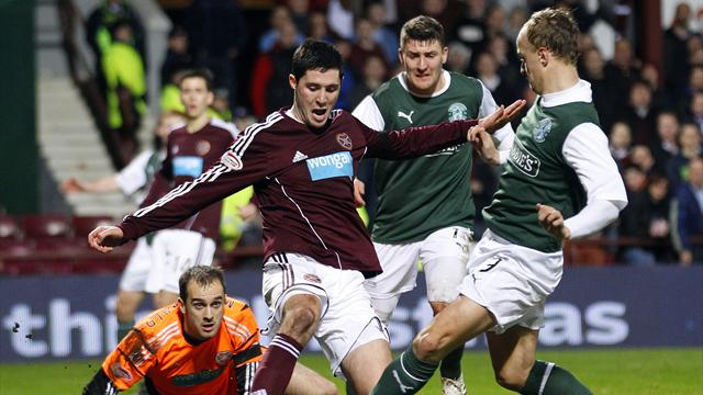 Scottish Football - Hearts and Hibs play out stalemate in derby
