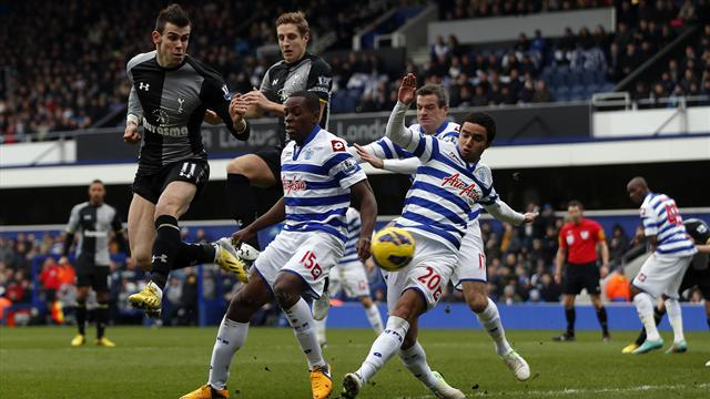 Premier League - QPR hold firm to frustrate Tottenham