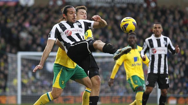 Premier League - Norwich and Newcastle play out bore draw