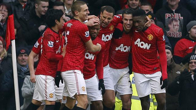 Premier League - Manchester United hold off Liverpool to stay seven clear