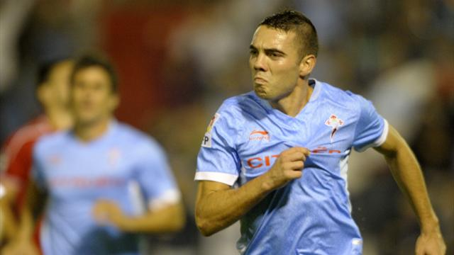 Spanish Liga - Aspas gives Celta draw against Bilbao