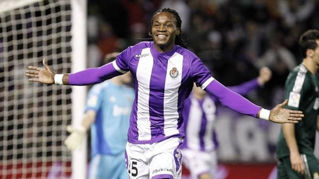 Spanish Liga - Manucho wins it for Valladolid at Rayo