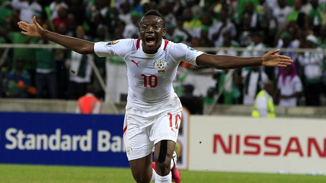 African Cup of Nations - Burkina Faso strike late for Nigeria draw