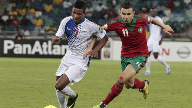 African Cup of Nations - Morocco held by Cape Verde