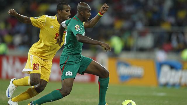 African Cup of Nations - Traore double floors Ethiopia