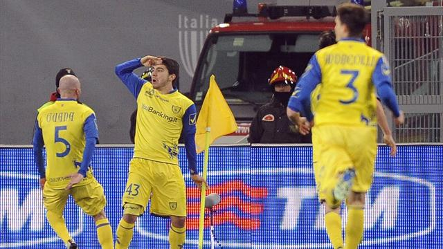 Italian Serie A - Paloschi fires Chievo to shock win at Lazio