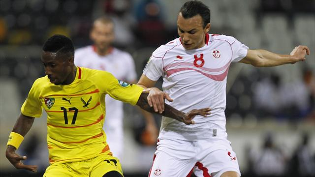 Video: Togo vs Tunisia