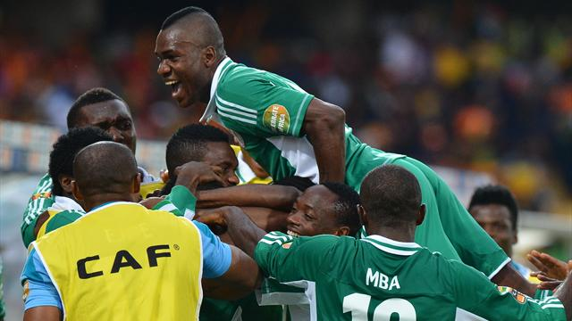 African Cup of Nations - Nigeria shock Ivory Coast as Drogba fails again