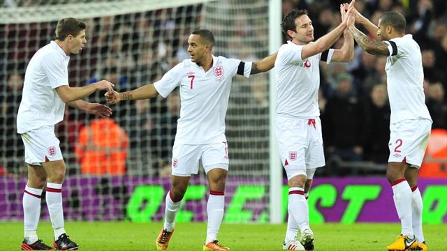 World Football - Lampard fires England to win over Brazil