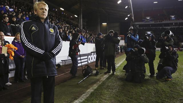 World Football - Strachan makes winning start as Scotland boss