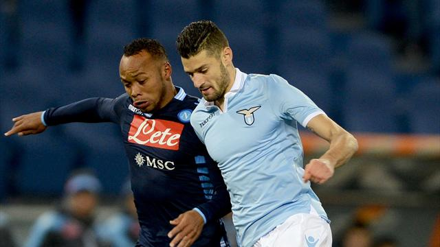 Italian Serie A - Napoli grab draw with magical volley