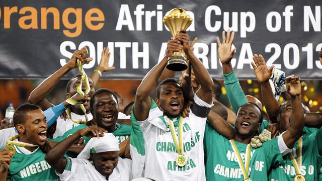 African Cup of Nations - Mba's wondergoal wins trophy for Nigeria