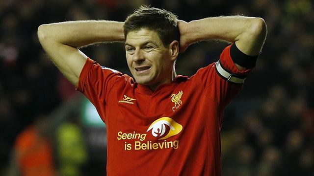 Premier League - Gerrard misses penalty as West Brom stun Liverpool