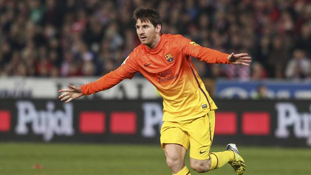 Spanish Liga - Messi scores 300th Barca goal before superb free-kick winner